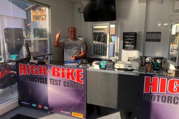 High-Bike Motorcycle Testcenter in Zams/Tirol