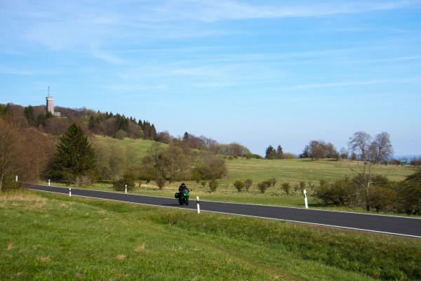 Motorradtour Rhön-Rother Kuppe ©motorradstrassen