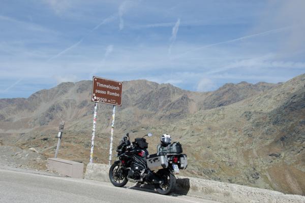 Motorradfahren am Timmelsjoch ©Peter Wahl
