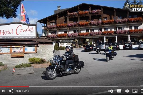 Motorradspaß mit Konrad - Das Video zum Motorradspaß in den Dolomiten