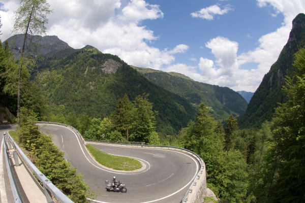Motorradland Kärnten - Plöckenpass ©Heinz E. Studt