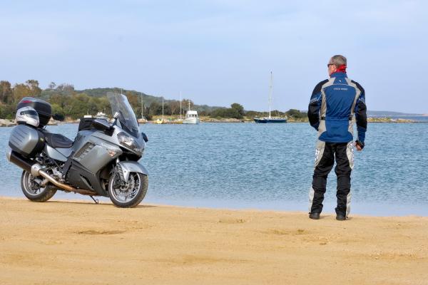 Motorrad fahren - Sardinien - Küste bei Palau © Heinz E. Studt