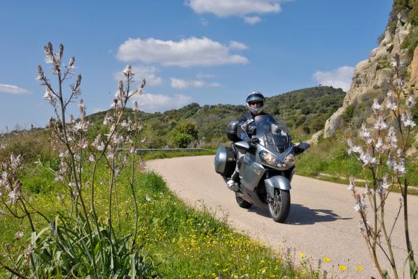 Motorrad fahren - Sardinien - Lago Liscia © Heinz E. Studt