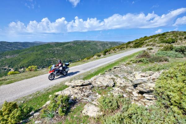 Motorrad fahren - Sardinien - Gennargentu © Heinz E. Studt