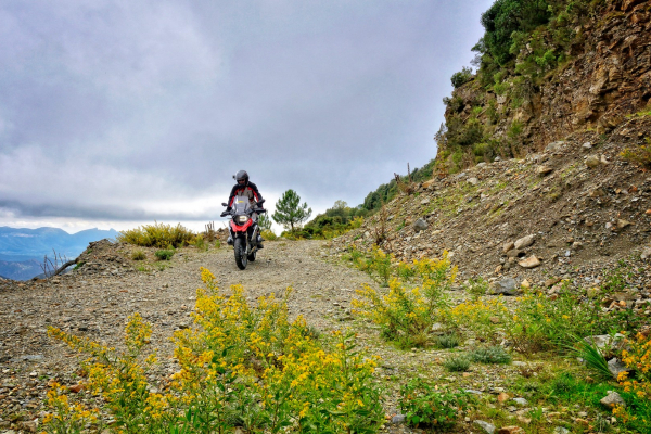 Motorrad fahren - Sardinien - Talana Südpiste © Heinz E. Studt