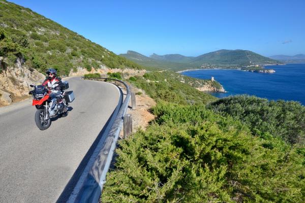 Motorrad fahren - Sardinien - Capo Caccia © Heinz E. Studt