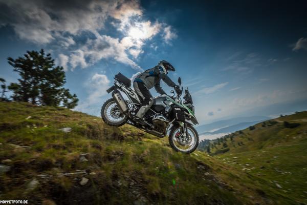Motorradtouren mit Astrid und Christian - Grizzly Sport & Motorrad Resort und BMW Testride Hotel ©MOPPETFOTO.de