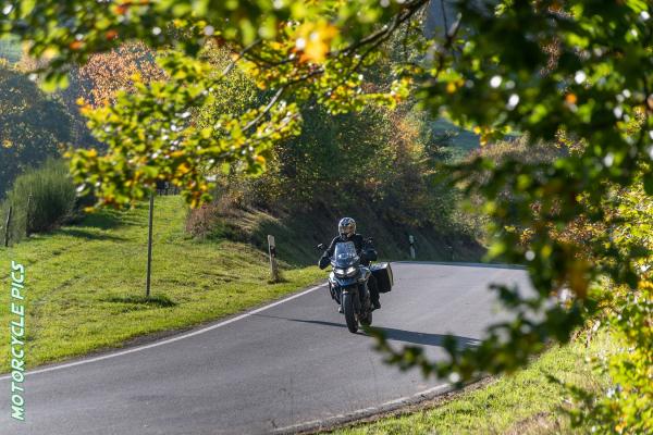 Motorrad fahren im Spessart ©motorradstrassen