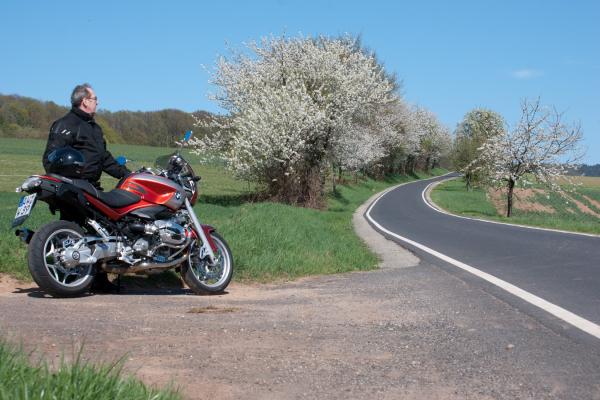 Motorrad fahren in der Rhön © motorradstrassen