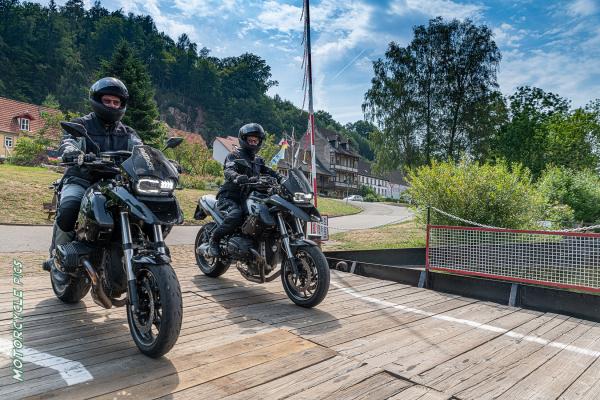 Unterwegs mit dem Bikerwirte-Paar vom Gasthaus Hotel Lärmfeuer