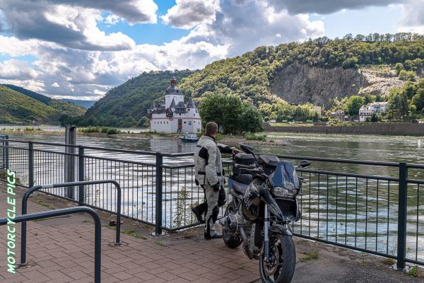 Motorradtour Rheingau - Kaub ©Peter Wahl