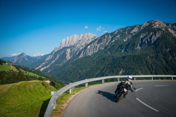 Motorradtouren Osttirol-Pustertaler Höhenstraße © moppetfoto