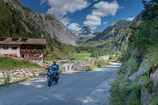 Motorradtouren Osttirol- Kalser Glocknerstraße © Peter Wahl