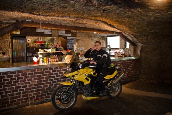 Motorradhöhle Pekelne Doly © Peter Wahl