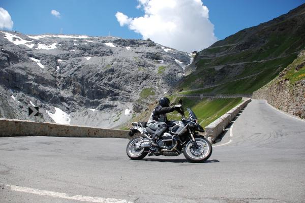 Motorradtour Stilfser Joch - Stuben am Arlberg © Peter Wahl