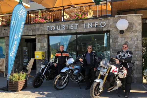 Tourismusbüro -Stuben am Arlberg © motorradstrassen