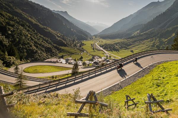 Arlbergpass - Stuben am Arlberg © Peter Wahl