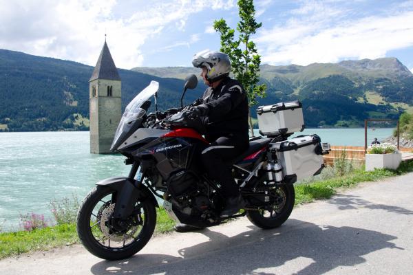 Motorradtour - Reschensee © Peter Wahl