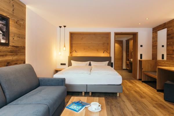 Hotel Weisseespitze - Zimmer- Tirol - Kaunertal © Daniel Zangerl